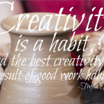 12 Actionable Tips On Creativity From The Inimitable Twyla Tharp-Part 1