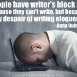 11 Inspiring Ways to Get Past Writer's Block