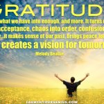 Gratitude and Appreciation: In Words And In Pictures